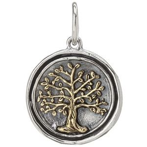 Waxing Poetic Tree of Life Charm